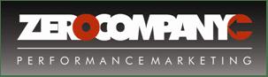A logo For Zero Company, a Marketing Agency